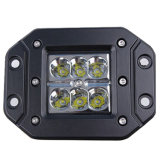 A luz de LED traseira veículo Pod para montagem embutida para Luz de Trabalho do Veículo E MARCA DE R10 R23 R112
