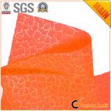 Fiore non tessuto dei pp & arancio dei materiali da imballo no. 6 del regalo