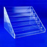 Présentoir acrylique transparent fait sur commande