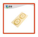 Высокое качество Gold штамповки бумажную наклейку/индивидуальную подпись