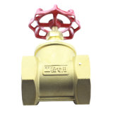 Valvola a saracinesca d'acciaio fornita fabbrica del filetto interno d'ottone della valvola a saracinesca