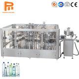 bottiglia di plastica automatica della macchina di rifornimento dell'acqua di bottiglia 6000bph che beve le macchine imballatrici di contrassegno di coperchiamento di riempimento di lavaggio della bibita analcolica