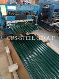 Feuille de toit en acier galvanisé/ galvanisé Couleur personnalisée en usine Roofing feuille avec 665mm
