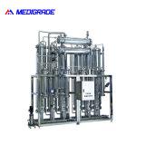 L'eau pure pour la médecine de distillateur