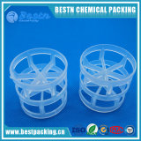 La transferencia de masa Anillo Pall de plástico para la extracción de líquido
