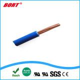 cavo elettrico flessibile e fune del PVC di 4/0-28AWG UL1015