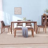 Mobiliário moderno em madeira madeira contemporâneo Restaurante mesa de jantar para Home
