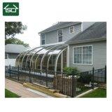 Сад солярий с двойными стеклами на дворе