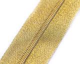 노란 테이프와 Dtm 이 일반적인 엄지 끌어당기는 사람 또는 최상을%s 가진 나일론 지퍼