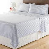 Ropa de cama de microfibra 100% poliéster Conjunto de hojas para Hotel