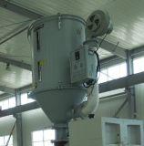 Calibração de depressão do tubo de HDPE com linha de extrusão
