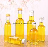 bottiglie impaccanti del mini di formato 30-100ml liquore di vetro libero di vetro della radura