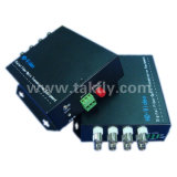 1080P de 8 canales Ahd&Cvi&Tvi de transmisión de fibra de Video