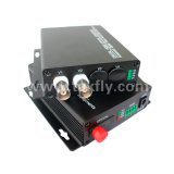 El canal 2 única fibra óptica Digital Video Converter/Switch