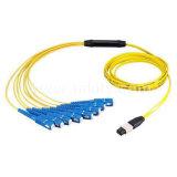 Fiber OpticのためのMPO/MTPSc Fanout Cable