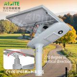 3 anni della garanzia LED della via di lampada solare esterna del giardino con il sensore di movimento