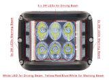Shooter lateral de la conducción de luz LED de 5 pulgadas Pod de luces de conducción de LED LED rígidas