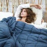 新しい方法大人の感覚的な重力によって重くされる毛布