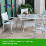 Rattan moderno del patio di nuovo disegno/giardino esterno svago di vimini che pranza mobilia