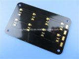 Carte de circuit imprimé à noyau métallique construit sur socle en aluminium avec 3W/mk diélectrique et de l'or d'immersion