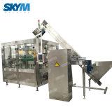 O enchimento do reservatório de água potável automática de linha de máquinas de produção