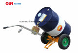 Öl-Trommel-Träger-Hand-LKW De450 des Fabrik-Preis-auf Lagerer 450kg 2-Wheel
