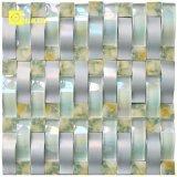Mezcla de mármol del mosaico de cristal arqueado mosaicos