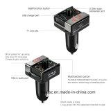 Trasmettitore Handsfree senza fili universale dell'automobile FM di Bluetooth con l'accenditore della sigaretta del caricatore dell'automobile del USB