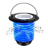 Vs336 bug zapper moustique solaire Imperméable électronique Fly Trap insectes Killer avec lumière de nuit pour l'intérieur en extérieur