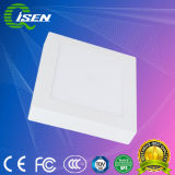 Superfície arredondada 30W Luz do painel de LED montados com alojamento de alumínio