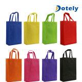 Saco de compras reutilizáveis Non-Woven Sacos de tecido Sacola de Compras de dobragem