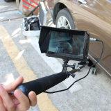 Digital HD 1080P sob o veículo automóvel Sistema Detector de câmera com 2m Telescópica