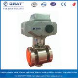 Brida de la acción directa DN65 Válvula de control de agua caliente eléctrica