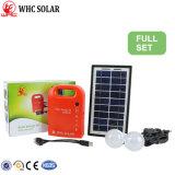 DC 3W La Energía Solar kit con 2 Bulds