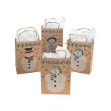 Популярные рождественских подарков Custom бумажных мешков для пыли (YH-PGB110)
