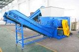 Plastikaufbereitenmaschine/Plastikgranulierer-/Einzeln-Welle Reißwolf/große grosse HDPE-Belüftung-Rohr-Zerkleinerungsmaschine