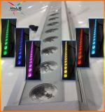 La phase de lumière LED 18x10W Rondelle mural Bande LED Projecteur mural