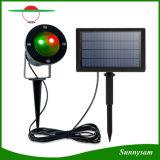 Proyector de estrellas de luz láser Solar Waterproof Spotlight Decoración Iluminación para Jardín paisaje Vacaciones de Navidad