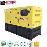 Elektrischer Preis des super schalldichten beweglichen Dieselgenerator-12kw des Generator-15kVA