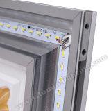 18W LED montados en la superficie de la luz del panel de techo con fines comerciales.