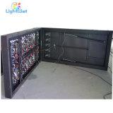 Schwarze Schrank-Farbe und breiter Bildschirm-Unterstützungs-LED Fernsehapparat