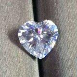 Corte do coração Moissanite Moissanite sintético/Branco/preços por grosso Moissanite Diamond