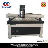 CNC機械、プラスチック印の作成のための木製CNC機械