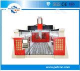 GM3060t 3D CNC Machine 5 van de Router het Metaal van de As voor Grote Industrie van het Beeldhouwwerk