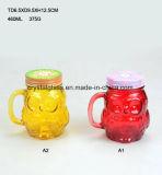 Bouteille de verre de la personnalité de la Verrerie Mason Jar pour boissons