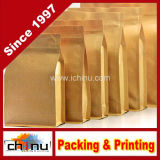 中国の工場OEMの生産によってカスタマイズされる紙袋(220073)