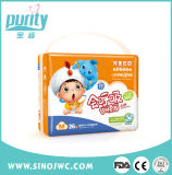 Pianta di fabbricazione del pannolino del bambino