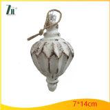 Ormament de vidro de suspensão para a decoração da árvore de Chritsmas