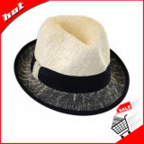 Mistura de cores Chapéu de Palha de papel, o Fedora Hat
