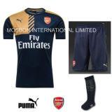 Trainings-Fußball-Installationssatz-Abnützung-Marine-Juniorhemd schließt Socken kurz